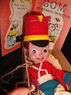 Enid Blyton's BOM by Pelham Puppets c1958