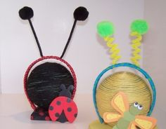 """DIY ladybug and dragonfly headbands ~ perfect bug party favor idea  {It's a Bug's Life- Girl Scouts of Northern Illinois Council's Own Patch}  [Step One] Hold a dance in which you learn different """"bug"""" moves like the Jitterbug, the Worm, etc.  enhance the dance by making your own bug mask to masquerade yourself."""
