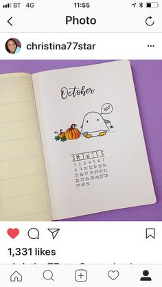 #bullet journal #octobre