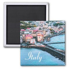Shop Italy - Souvenir Magnet created by stdjura. Souvenirs From Italy, Naples, Old Town, Old Things, Europe, Island, Magnets, Places, Block Island