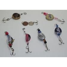 Bottle cap lures
