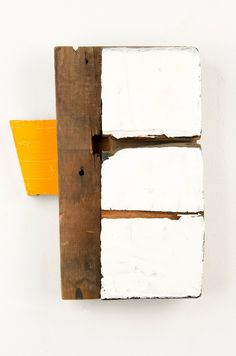 Richard Nonas Untitled, 1990 Wood 11 1/2 x 9 x 2 1/2 inches, 29.2 x 22.9 x 6.4 cm Courtesy of Fergus McCaffrey © Richard Nonas