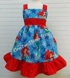 Custom Boutique Clothing  Ariel  Sassy Girl Dress by amacim, $35.00