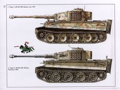 Tiger I camouflage patterns Military Drawings, Tank Armor, Camouflage Patterns, War Thunder, Military Armor, Tiger Tank, Model Tanks, World Of Tanks, Battle Tank