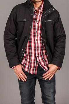 Hurley Covert Distortion Nylon Jacket Black