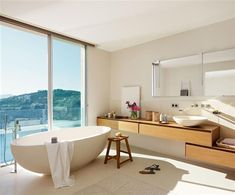 Baños de ensueño con bañeras exentas · ElMueble.com · Cocinas y baños