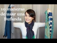 YouTube Ways To Tie Scarves, Loop Knot, Scarf Knots, Square Scarf, Womens Scarves, Diy Fashion, Formal, Youtube, Cool Style