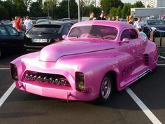This pink is perfect. Nothing Pepto Bismol about it!