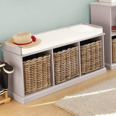 The Abbeville Hallway Storage Bench From GLTC. The Bench Is Padded For  Extra Comfort Handy