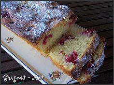 Cake aux framboises, citron vert et mascarpone (Cake with raspberry, lime and mascarpone)