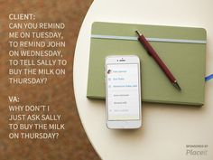 reminding-the-client Virtual Assistant, To Tell, Ads, How To Make