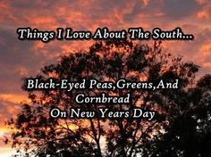 The South!
