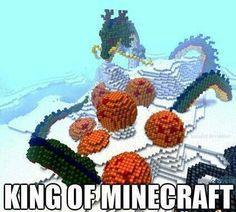 Risultati immagini per minecraft pixel art dragon ball Minecraft Kunst, All Minecraft, Minecraft Construction, Minecraft Crafts, Minecraft Buildings, Minecraft Creations, Minecraft Designs, Minecraft Inventions, Dbz
