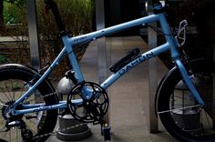 DAHON / Dash P8 STORM BLUE + RIXEN BASKET | Bikes / Frames | VeloStyle TICKET