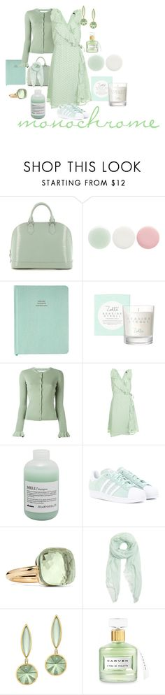 """""""reFRESHing"""" by mara-wink ❤ liked on Polyvore featuring Louis Vuitton, Nails Inc., RED Valentino, Topshop, Davines, adidas Originals, Pomellato, Furla and Carven"""