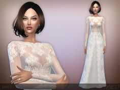 Sims 4 CC's - The Best: Dress by Beo Creations