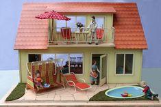 afb52971f0d8 Puppenhaus mit Teich - 1959 Bodo Hennig - dolls house with a pond
