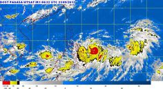 Tropical Storm Lawin Update - September 23, 2012