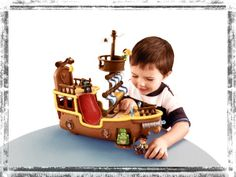 A musical pirate ship! For little adventurers...