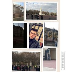 Managed to visit Buckingham palace as well #london #royals #palace by cammymitch97
