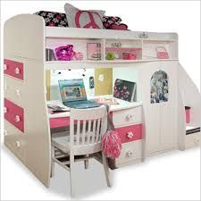 Resultado de imagem para bunk beds with desk for girls