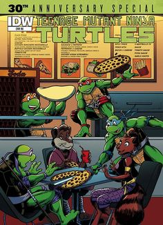 Teenage Mutant Ninja Turtles: 30th Anniversary Special #1 (One-Shot)