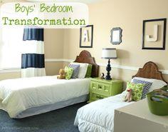 Boys' Bedroom Transformation