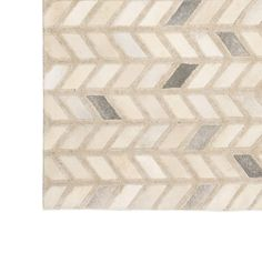 MARSEILLE 8 X 10<BR>[available online and in stores] Cow Rug, Cow Hide Rug, Herringbone Rug, Mitchell Gold, Handmade Rugs, The Hamptons, Chevron, Area Rugs, Plush