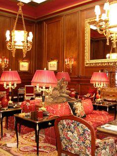 Hotel Sacher interiors   Innere Stadt, Vienna, Austria   House of the original Sachertorte.