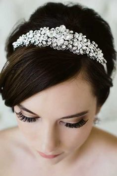 Sara Gabriel Veiling & Headpieces :: Collection › Headpieces › Products › Jordan Hair Ribbon