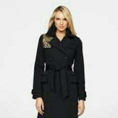 Bagley Mischka trench coat New without tags Badgley Mischka Jackets & Coats Trench Coats