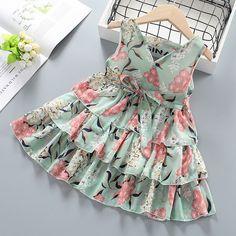 Baby Girl Frocks, Frocks For Girls, Girls Dresses Online, Toddler Girl Dresses, Dresses For Toddlers, Baby Girl Dress Patterns, Baby Dress, Cute Dresses, Trendy Dresses