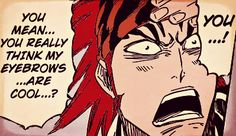 Its sad that only one person said renji eyebrows were cool. I love them!
