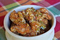 Pollo frito con salsa de cebollas de verdeo: http://elgour.me/1MxDxk2  #elgourmet #TuCanalDeCocina #Recetas