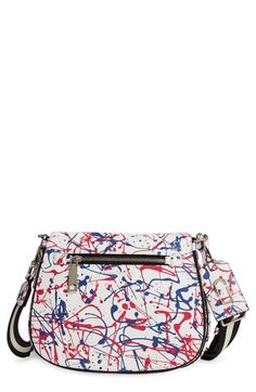MARC JACOBS 'Splatter Paint' Saddle Bag available at #Nordstrom