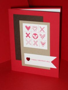Last year's (2010) Valentine's cards..