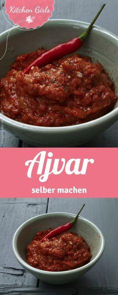einfaches Rezept für Ajvar - Ajvar selber machen