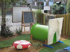 Irresistible Ideas for play based learning » Blog Archive » engaging spaces for toddlers--this is a really cool toddler outdoor area, lots of creative easy to replicate ideas