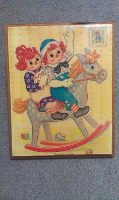 Ginger Love  Raggedy Ann and Andy Vintage 1970s by GypsyDivas, $15.00