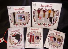 e.l.f. Disney ~ SNOW WHITE ~ The Fairest of Them All ~ Limited Makeup Collection #elf