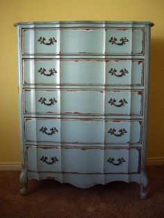 Chalk paint French provencial furniture | French Provincial Furniture Makeovers | Photography I Love