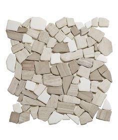 Teakwood Fragment Mosaic | Topps Tiles