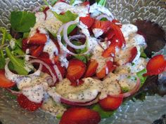 Ms Not So Perfect...: Strawberry Dinner Salad
