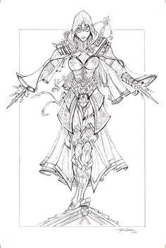 Assassin's Creed Pencils by jamietyndall.deviantart.com on @DeviantArt