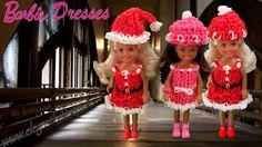 Rainbow Loom Barbie Dress/Christmas/Holiday Wearable - How to Loom Band Tutorial by Elegant Fashion 360.