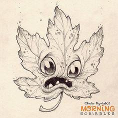 It's Falllllll..... #morningscribbles | Flickr - Photo Sharing!
