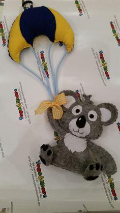 fiocco nascita koala di toysemoretortona su Etsy