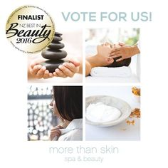Thanks to all our lovely clients we we're nominated in the Beauty awards again for 2016! <3