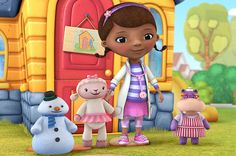 Over analyzed children's shows. I only found the doc mcstuffins one and the gaspard and Lisa one but they are hilarious! Doc Mcstuffins Cake Topper, Doc Mcstuffins Birthday Party, Disney Junior, Disney Jr, 3rd Birthday, Birthday Ideas, Kendall Birthday, Happy Birthday, Birthday Cakes