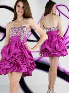 A-Linie Strass Sleeveless Short Mini-elastische Gewebe Satin Cocktail-Kleid Homecoming Kleider196,33 €   112,19 €